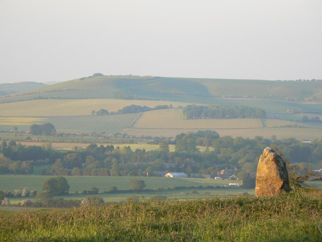 Liddington Castle from near Barbury Castle