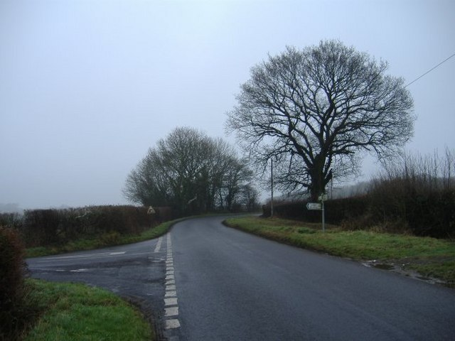 Junction on the Great Somerford road