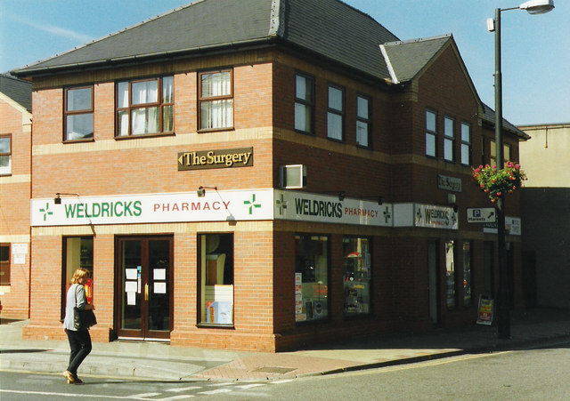 Weldricks pharmacy in Hallgate