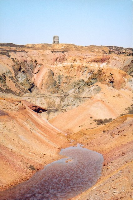 The big hole - Parys Mountain