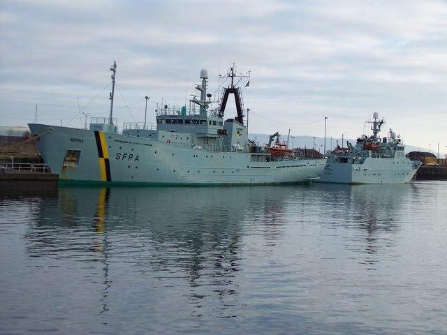 SFPA Ships at James Watt Dock