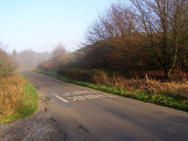 Road to Martinstown at Smitten Corner