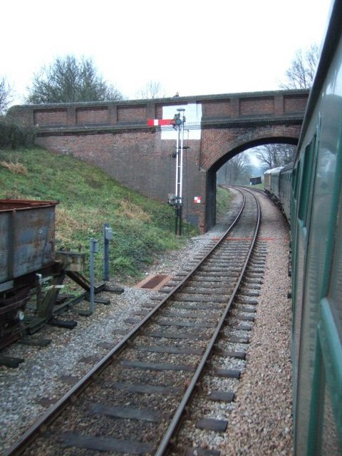 Road Bridge over the Bluebell Railway
