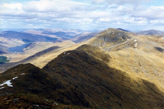 The ridge to Sgurr Thuilm