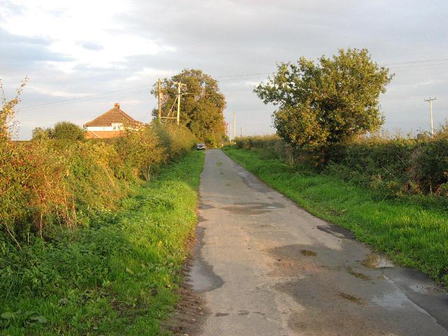 Leaving Snowfield Farm