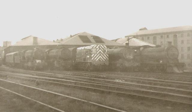 Sunderland loco sheds