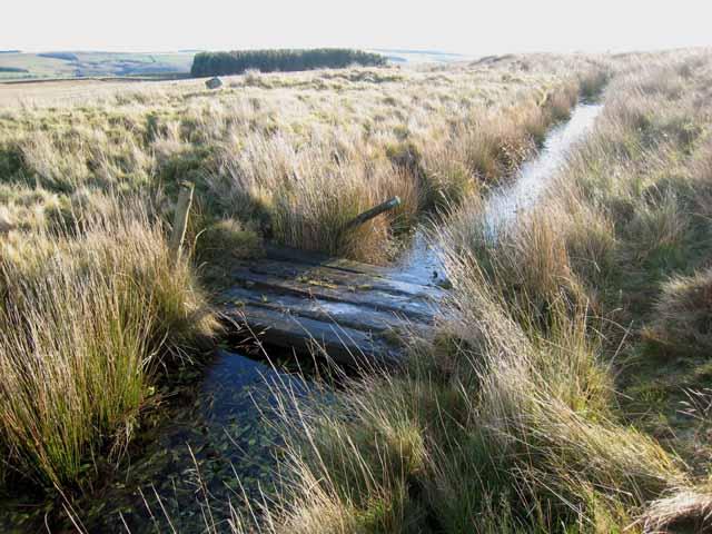 Leat feeding the Waskerley Reservoir