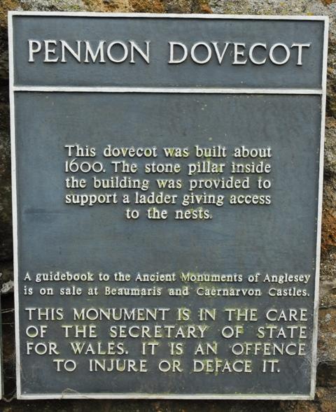 Penmon Dovecot