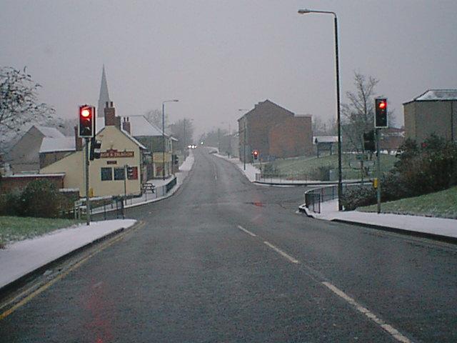 Clay Cross Traffic Lights