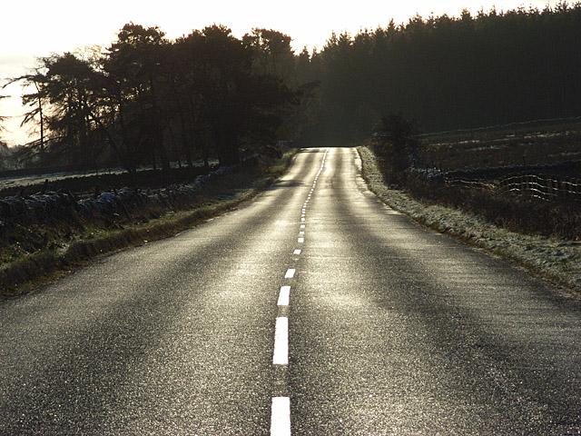 The A689, Kirkhaugh