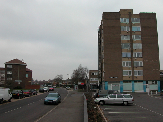 Flats on Bishopsfield Road, Fareham