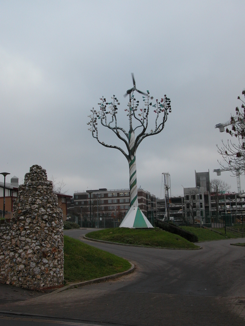 Sculpture at the Wymering Centre