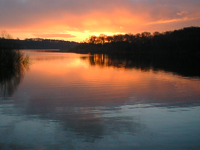 Sunrise Across Chapel Bay