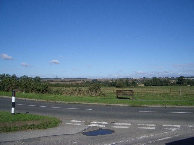 The School Road Junction near Carlton