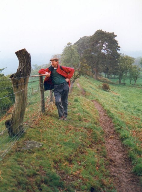 Offas Dyke and the Welsh border
