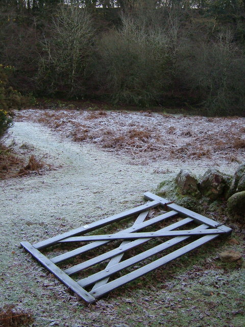 Fallen gate by the Baggator Brook
