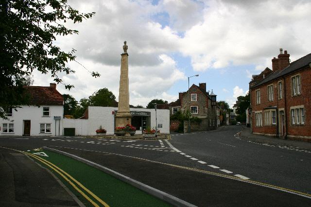 The Obelisk, Silver Street, Warminster