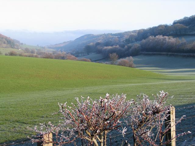 Nant Ffrauar valley