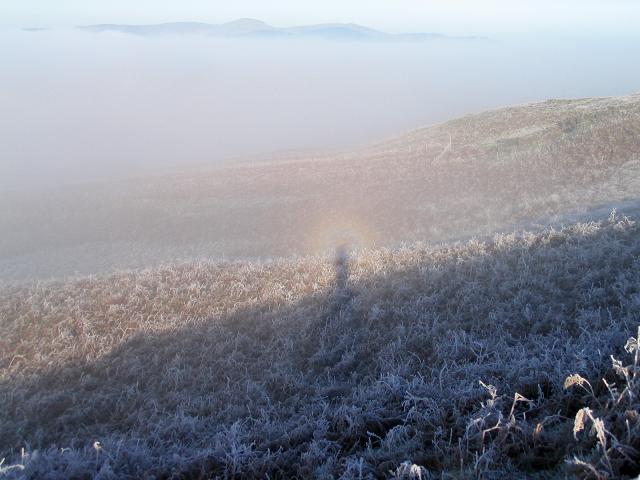 Brocken spectre near Bala Lake