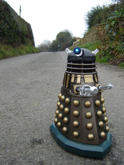 Alien invasion in Nercwys