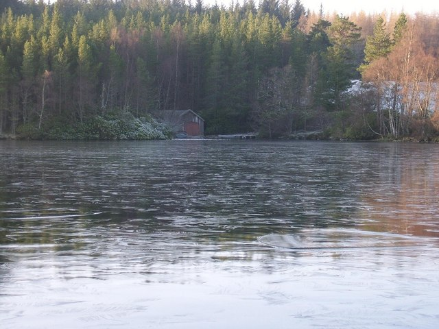 Boathouse at Loch Farr