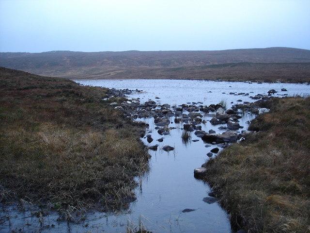 Outflow from Lochain nan Seasgach