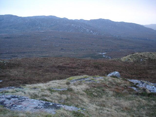 Caochan Dubh valley