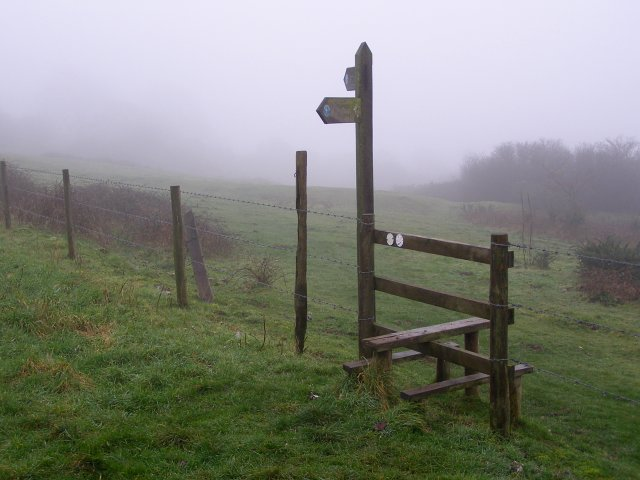 Stile on Giant Hill