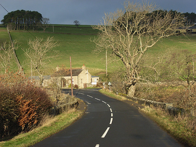 The B6295, Sinderhope