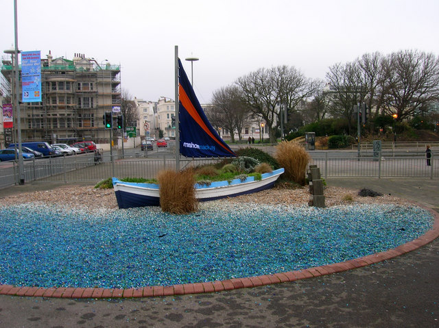 Boat Sculpture, Old Steine