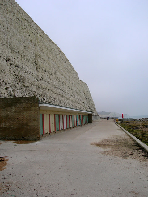 Beach Huts, Undercliff Walk, Rottingdean