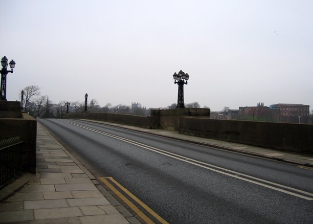 Grosvenor Bridge and Chester Skyline