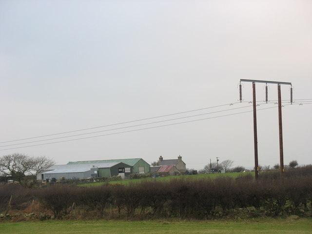 The Three-bay hay barn at Llwynbedw, Bethel