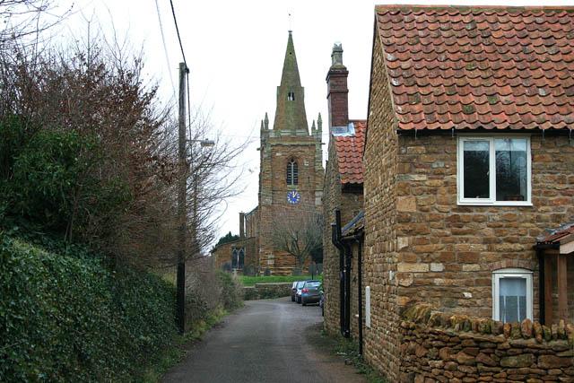 Church Lane, Eaton