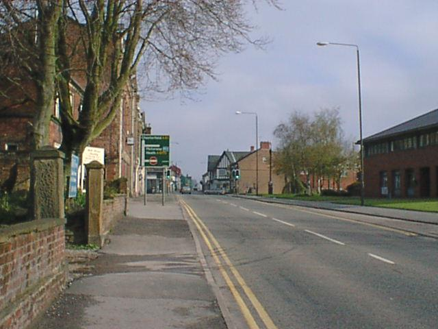 Clay Cross High Street (North View)