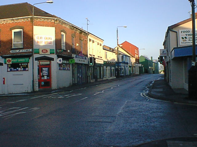 Junction of High Street and Holmgate Road