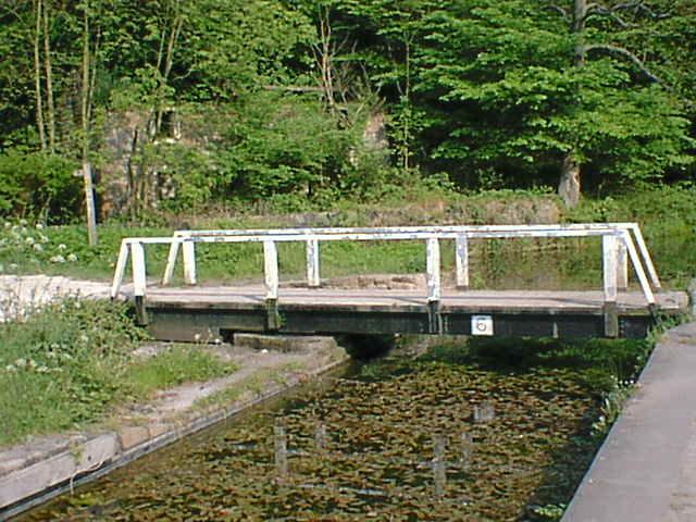 Cromford Canal Footbridge