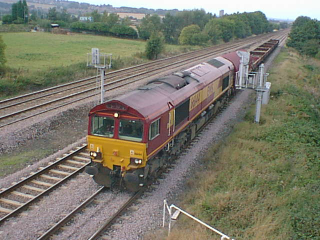 66144 Approaches Tupton Heading South