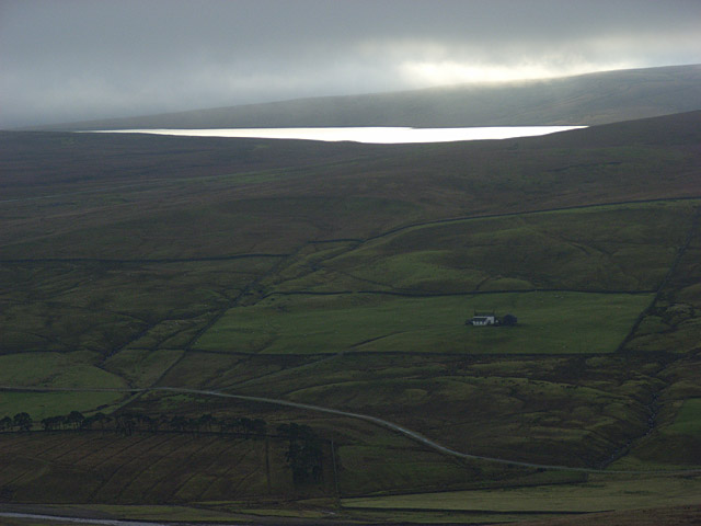 Binks House and Cow Green Reservoir