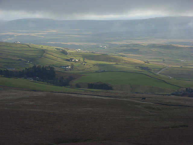 View of the Langdon Beck area