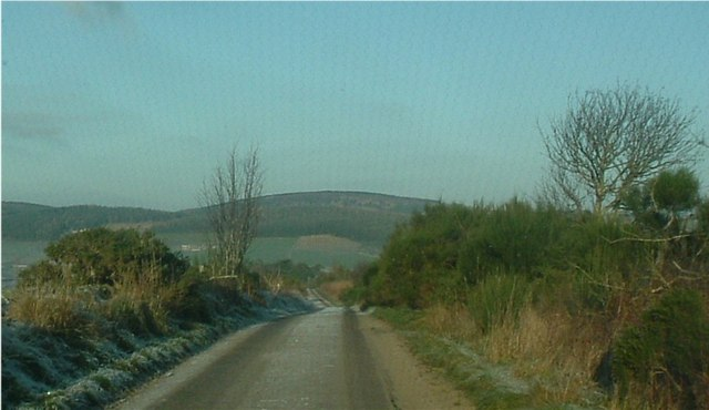 Road north to Cairnbeathie