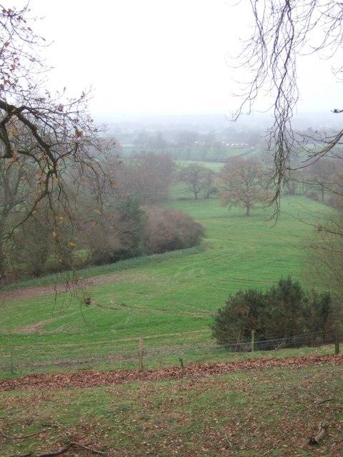 Footpath near Borough Farm