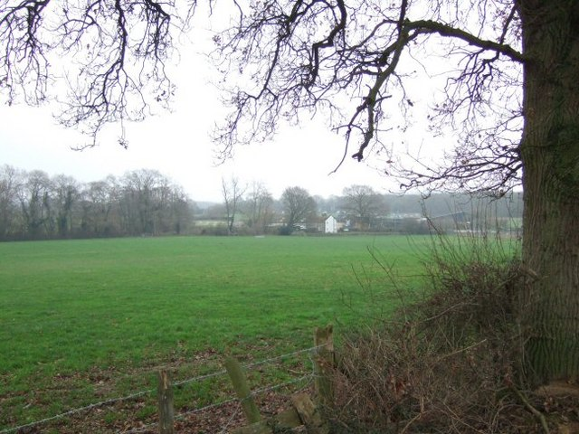 View Across Fields to Stablebarn Farm