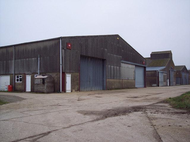 Flamstone Farm Grain Store