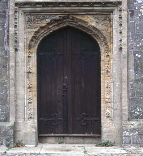Church Door St Andrew's Stratton
