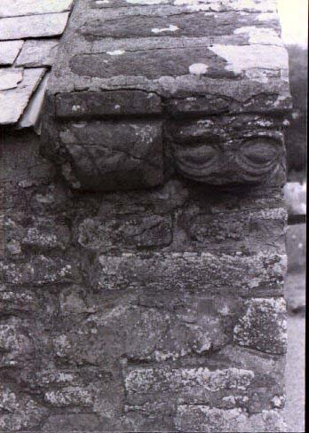 Old Stone Head Morwenstow Church