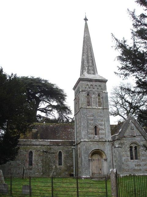 St Kenelm's, Stanbridge - western end