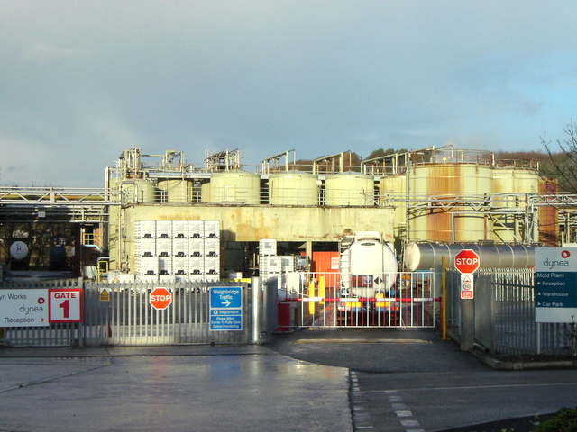Alyn Works - Gate 1 (Dynea side)