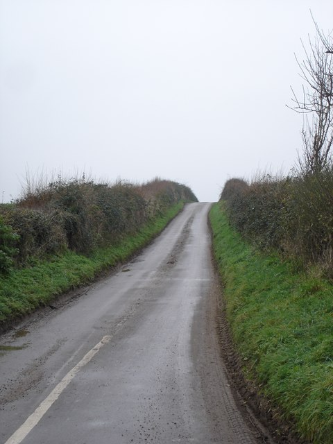 The road to Hinton Parva