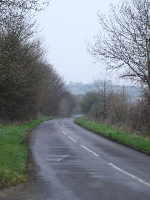 The road to Hinton Martell